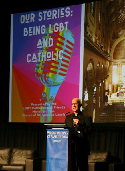 US Jesuit priest James Martin saod gay people in the Catholic Church are sometimes 'treated like dirt'