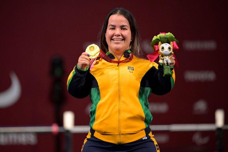 <p>Brazillian powerlifter Mariana d'Andrea made history, winning the country's first Paralympic gold medal in the discipline. D'Andrea won the event with a 137kg lift, beating out the next best performance of 134kg. <br></p>