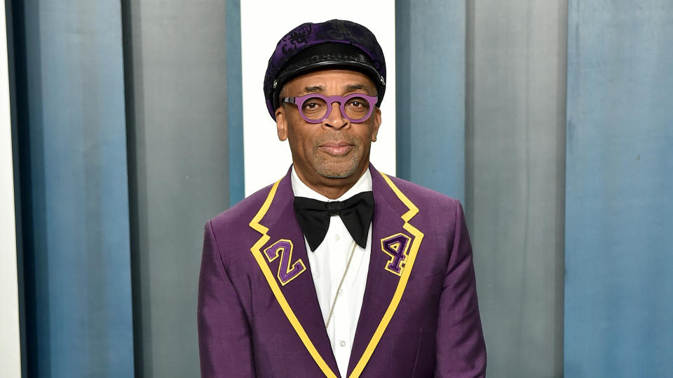 Spike Lee attends the 2020 Vanity Fair Oscar Party on February 09, 2020. (Photo by Axelle/Bauer-Griffin/FilmMagic)