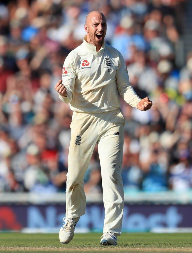 Jack Leach claimed the last four Sri Lankan wickets to fall