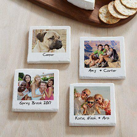 """<p>personalcreations.com</p><p><strong>$14.99</strong></p><p><a href=""""https://www.personalcreations.com/product/memories-shared-photo-coasters-30237882"""" rel=""""nofollow noopener"""" target=""""_blank"""" data-ylk=""""slk:SHOP NOW"""" class=""""link rapid-noclick-resp"""">SHOP NOW</a></p><p>Made of tumbled stone, these photo coasters are bound to bring a smile to your loved one's face. Each picture triggers a happy memory that'll brighten up any mood and serve as a fun conversation starter. You can select up to four pictures to be printed on each coaster. """"This is the best gift you will ever give somebody and they will truly enjoy it and use it often,"""" one reviewer wrote. """"I've purchased this for two different people already and can't wait to purchase them for myself. You won't be disappointed.""""</p><p><strong>_______________________________________________________</strong></p><p><em>Give the gift of more Woman's Day! Send your loved one <a href=""""https://subscribe.hearstmags.com/subscribe/splits/womansday/wdy_gift_nav_link?source=wdy_edit_article_gift"""" rel=""""nofollow noopener"""" target=""""_blank"""" data-ylk=""""slk:12 issues of Woman's Day for $7.99"""" class=""""link rapid-noclick-resp""""><strong>12 issues of Woman's Day for $7.99</strong></a>! And while you're at it, <a href=""""https://subscribe.hearstmags.com/circulation/shared/email/newsletters/signup/wdy-su01.html"""" rel=""""nofollow noopener"""" target=""""_blank"""" data-ylk=""""slk:sign up for our FREE newsletter"""" class=""""link rapid-noclick-resp"""">sign up for our FREE newsletter</a> for even more of the Woman's Day content you want.</em></p>"""