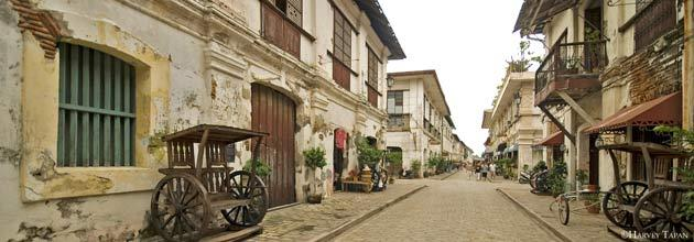 The Historic Town of Vigan<br /><br />Longganisa (pork sausage links). Bagnet (deep fried pork belly). Empanadas (stuffed pastry). Oh, and tons of old-world landmarks that would make you want to don a Filipiñana costume and explore the town via calesa (horse-drawn carriage). The capital of Ilocos Sur, Vigan is the best-preserved planned Spanish colonial town in Asia, and a standing historical landmark of what the old East and Southeast Asian trading towns looked like.