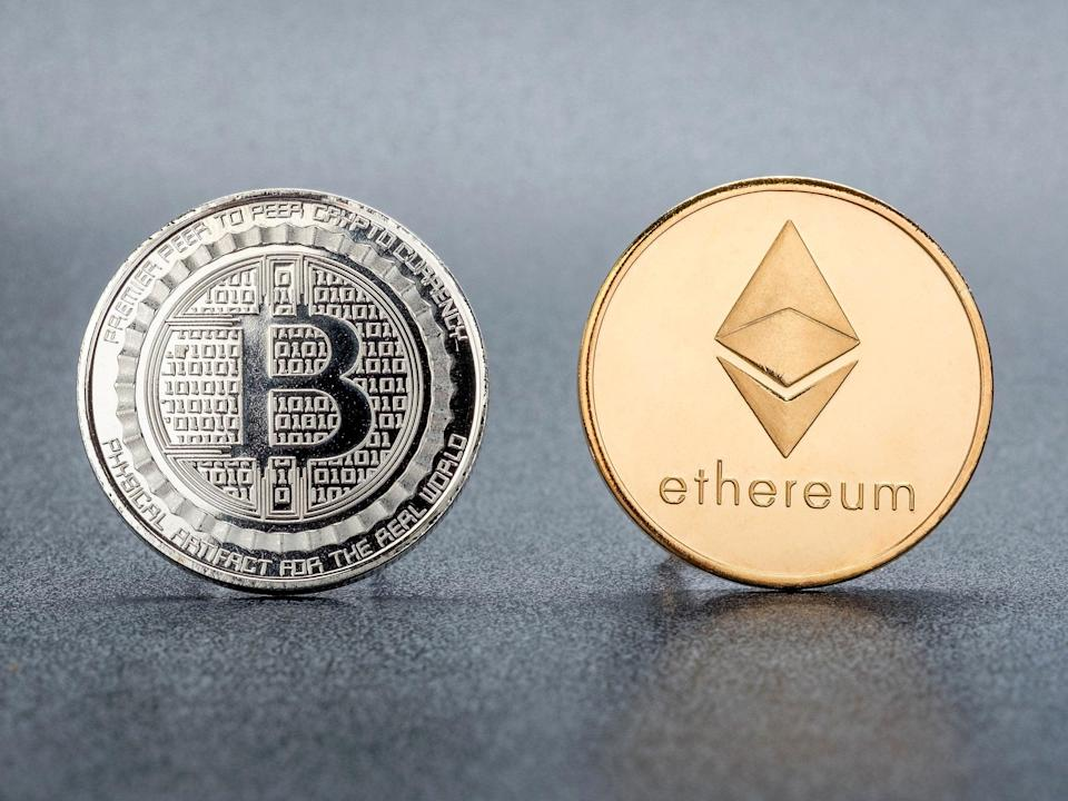 Bitcoin and ethereum have both seen new all-time highs in 2021 (Getty Images)