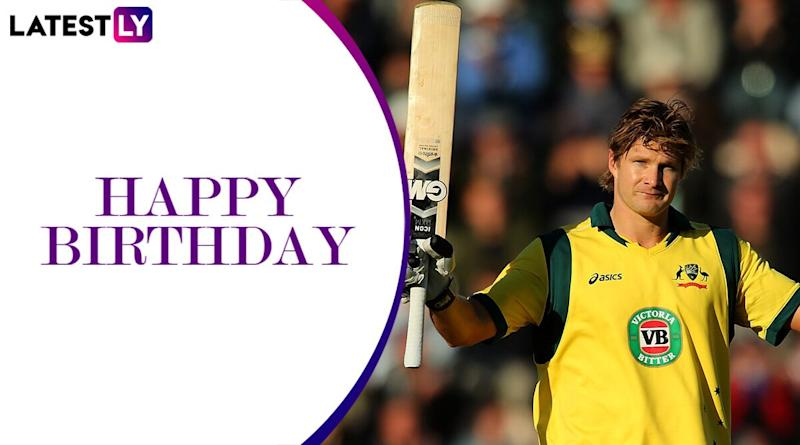 Happy Birthday Shane Watson: Chennai Super Kings and Others Wish the Former Australian All-Rounder As He Turns 39