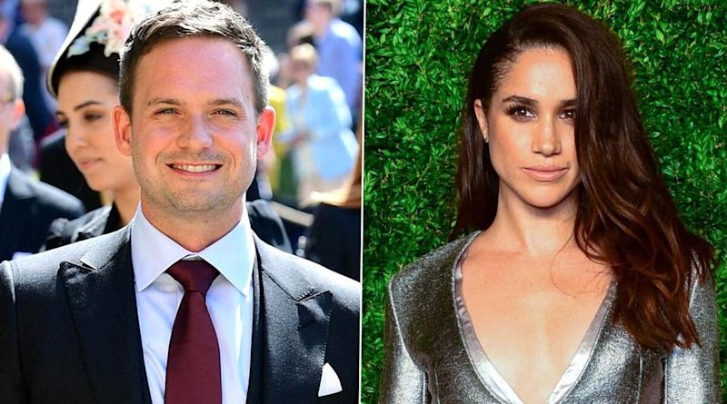 Patrick J Adams Is Not Speaking With Suits Co-Star Meghan Markle Out of 'Pure Fear!'
