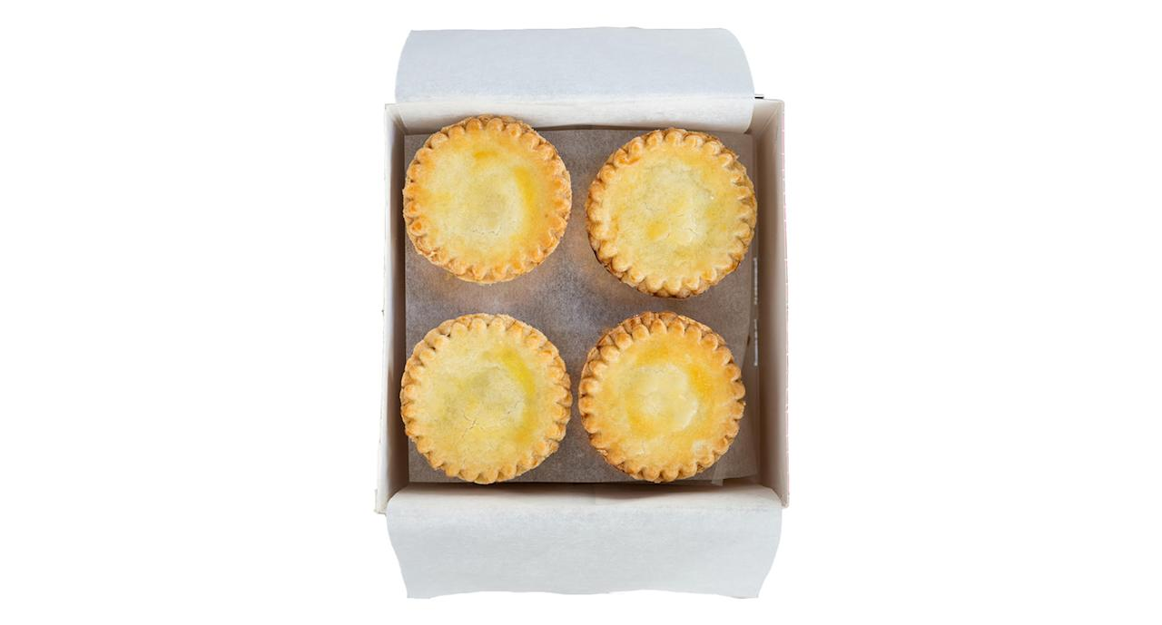 "<p><a rel=""nofollow"" href=""https://konditorandcook.com/shop-products/shop-by-products/mince-pies.html"">Konditor & Cook, £16 for 12</a> </p>"