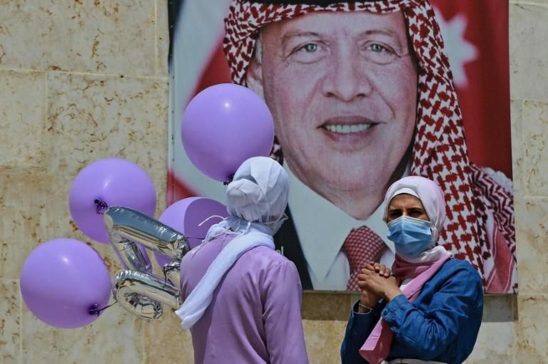 Portraits of the monarch are ubiquitous in Jordan, not just in the run-up to the centenary of the state's creation