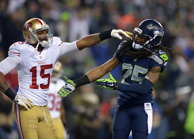 Catches don't come easy in the NFC West. (USAT)