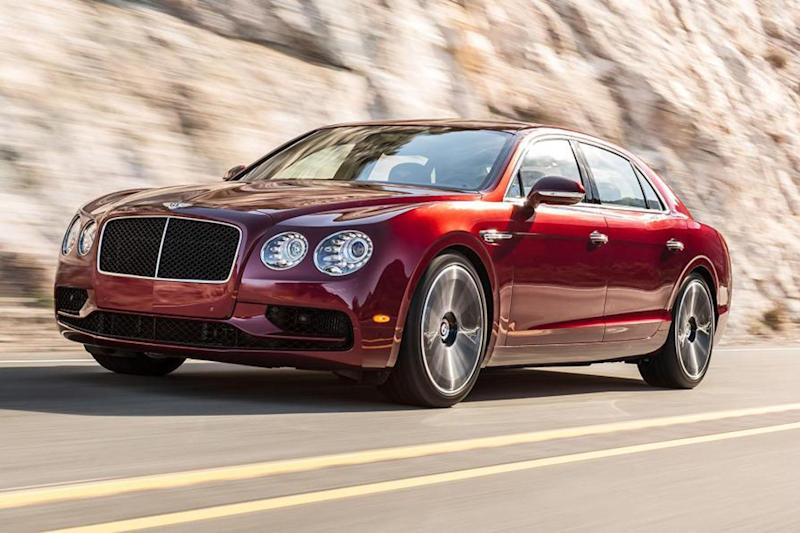 Pretty special: Bentley's Flying Spur V8 S has a top speed of 190mph