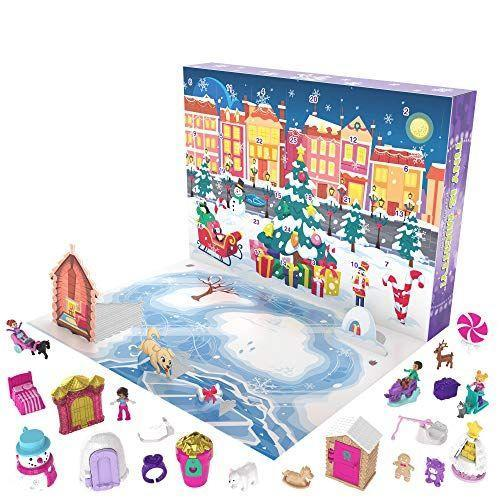 """<p><strong>Polly Pocket</strong></p><p>amazon.com</p><p><strong>$19.99</strong></p><p><a href=""""https://www.amazon.com/dp/B084L2239D?tag=syn-yahoo-20&ascsubtag=%5Bartid%7C10067.g.33853499%5Bsrc%7Cyahoo-us"""" rel=""""nofollow noopener"""" target=""""_blank"""" data-ylk=""""slk:Shop Now"""" class=""""link rapid-noclick-resp"""">Shop Now</a></p><p>Give kids a pocketful of fun this year with a winter wonderland calendar packed with snowy Polly Pocket dolls and accessories. </p>"""