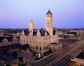 """<p>This nineteenth-century railroad station houses a gleaming boutique hotel in the heart of downtown Nashville. Its period furniture and architecture are accompanied by another sort of relic: """"Abigail"""" an ethereal ghost thought to inhabit Room #711 of the historic property.<br></p><p><a class=""""link rapid-noclick-resp"""" href=""""https://go.redirectingat.com?id=74968X1596630&url=https%3A%2F%2Fwww.tripadvisor.com%2FHotel_Review-g55229-d98234-Reviews-Union_Station_Hotel_Autograph_Collection-Nashville_Davidson_County_Tennessee.html&sref=https%3A%2F%2Fwww.countryliving.com%2Flife%2Ftravel%2Fg2689%2Fmost-haunted-hotels-in-america%2F"""" rel=""""nofollow noopener"""" target=""""_blank"""" data-ylk=""""slk:PLAN YOUR TRIP"""">PLAN YOUR TRIP </a></p>"""