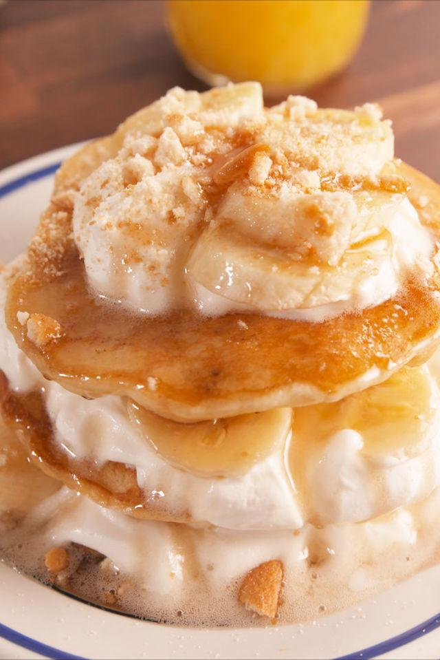 """<p>Your excuse to eat banana pudding for breakfast.</p><p>Get the recipe from <a rel=""""nofollow"""" href=""""http://www.delish.com/cooking/recipe-ideas/recipes/a57860/banana-pudding-pancakes-recipe/"""">Delish</a>.</p><p><strong><em>BUY NOW: Nonstick Skillet, $19, <a rel=""""nofollow"""" href=""""https://www.amazon.com/Chefs-Cuisine-Ceramic-Aluminium-Stainless/dp/B073SDR2J8/?tag=syndication-20&&ascsubtag=[artid"""">amazon.com</a>.</em></strong></p>"""