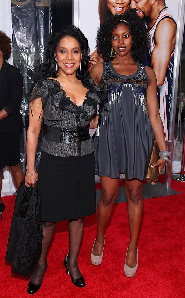 """<a href=""""http://movies.yahoo.com/movie/contributor/1800030629"""">Phylicia Rashad</a> and daughter Condola at the New York City premiere of <a href=""""http://movies.yahoo.com/movie/1810088527/info"""">Just Wright</a> - 05/04/2010"""