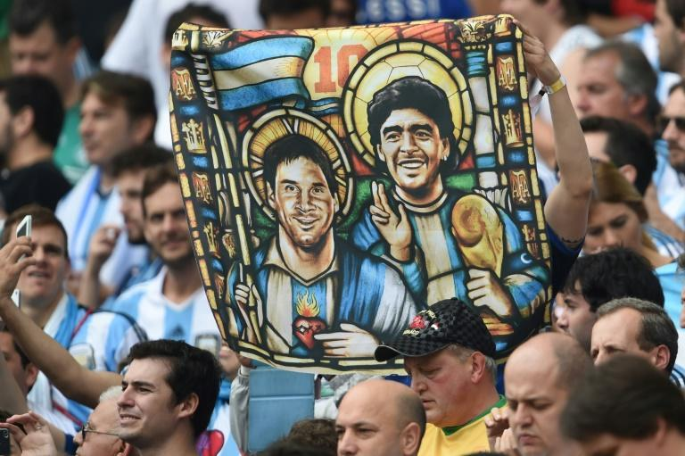 For Argentine fans, Diego Maradona and Lionel Messi, who both left for Barcelona, hold a special place
