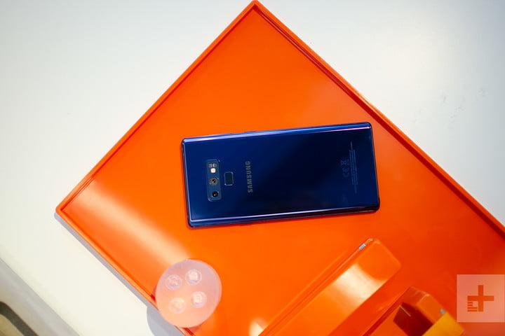 Galaxy Note 9 blue back