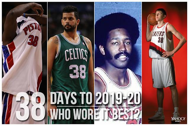 Which NBA player wore No. 38 best?