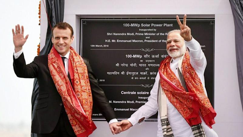 Bastille Day 2020: PM Narendra Modi Wishes Emmanuel Macron And French People on 231st National Day of France