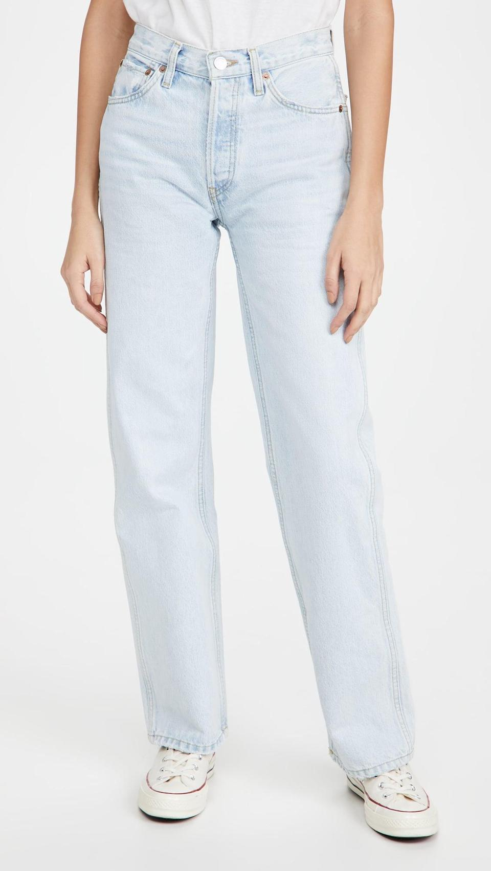 <p>These <span>RE/DONE High Rise Loose Jeans</span> ($212, originally $265) are awesome.</p>