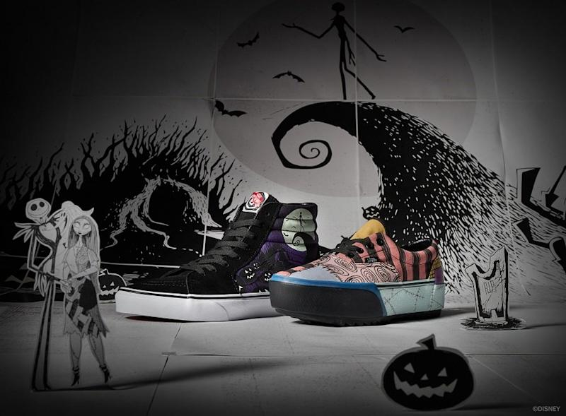 Nightmare Before Christmas Maternity Clothes.Vans Dropped Its New Nightmare Before Christmas Collection