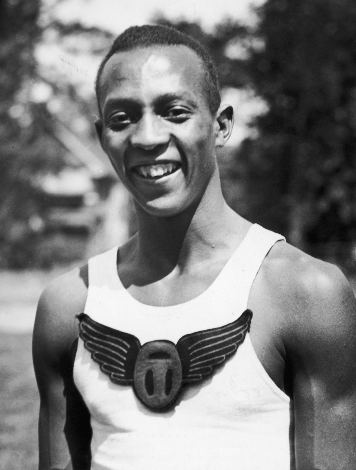 Jesse Owens (1913-1980) was well known as one of the greatest athletes of his generation. Photo: New York Times Co/Getty Images