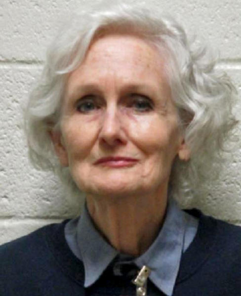 """This undated photo provided by the Nevada Department of Corrections shows Margaret Rudin, 76, the Las Vegas socialite dubbed a """"black widow killer,"""" following the 1994 slaying of her millionaire husband and her years as a fugitive before her arrest in 1999. Rudin was released from prison Friday, Jan. 10, 2020, after winning parole from her 20-years-to-life sentence for the killing of real estate mogul Ron Rudin. She is appealing her 2001 murder conviction, maintaining that she is innocent. (Nevada Department of Corrections via AP)"""