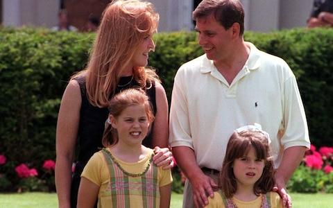 the Duke and Duchess of York and their children Beatrice (left) and Eugenie - Credit: Andrew Stuart/PA