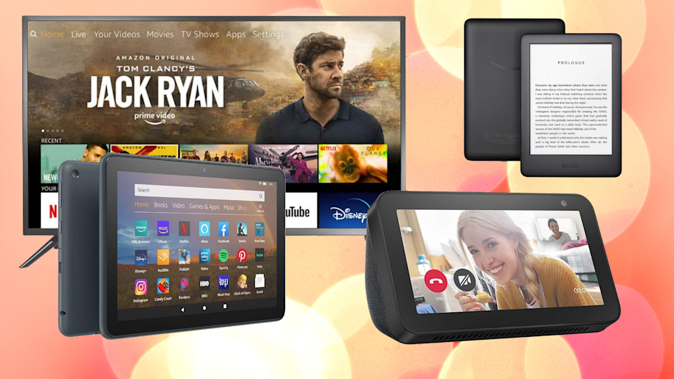 From Echo Show 5 to Fire TV Edition TVs, Presidents' Day means deep discounts at Amazon. (Photo: Amazon)