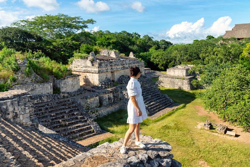 Officials invited stars to Yucatan to promote local tourism (Getty Images)