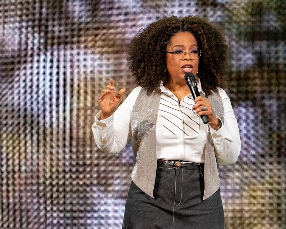 Oprah Winfrey hosts coronavirus special COVID19 — The Deadly Impact On Black America from isolation.