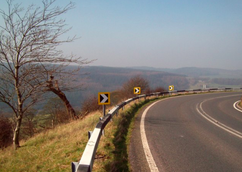 The A5004 from Buxton to Whaley Bridge in Derbyshire is Britain's most dangerous road (Geograph)