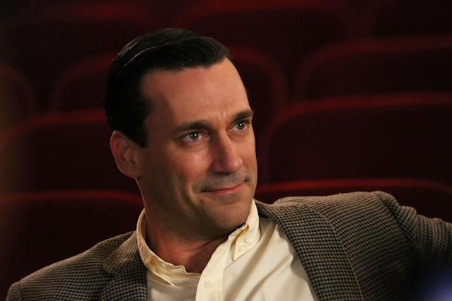 "Don Draper (Jon Hamm) in the ""Mad Men"" episode, ""The Flood."""