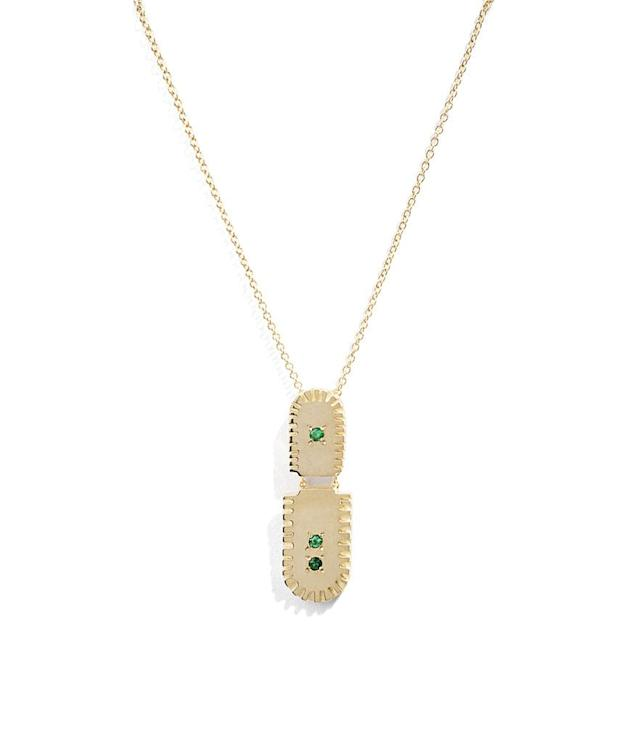 """<p>Ray pendant, $572.00, <a href=""""http://bario-neal.com/jewelry/necklaces/ray-pendant"""" rel=""""nofollow noopener"""" target=""""_blank"""" data-ylk=""""slk:barioneal.com"""" class=""""link rapid-noclick-resp"""">barioneal.com</a> </p>"""