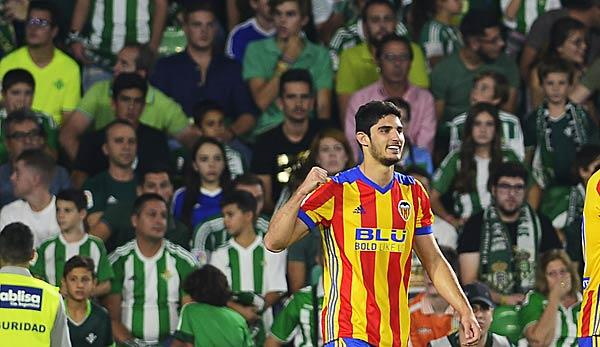 Primera Division: Real Madrid offenbar an Goncalo Guedes interessiert