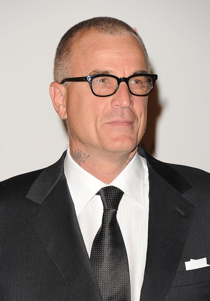 LOS ANGELES, CA - NOVEMBER 05:  Actor Nick Cassavetes arrives at LACMA's Art And Film Gala Honoring Clint Eastwood And John Baldessari at LACMA on November 5, 2011 in Los Angeles, California.  (Photo by Jason Merritt/Getty Images)