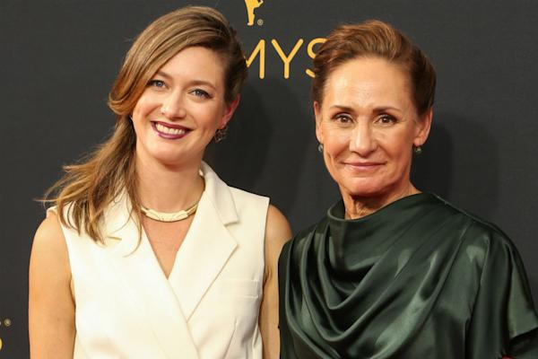 Zoe Perry and Laurie Metcalfe