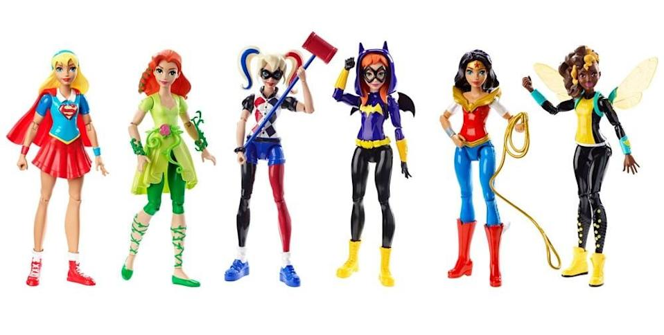 Action figure heroes (ToysRUs)