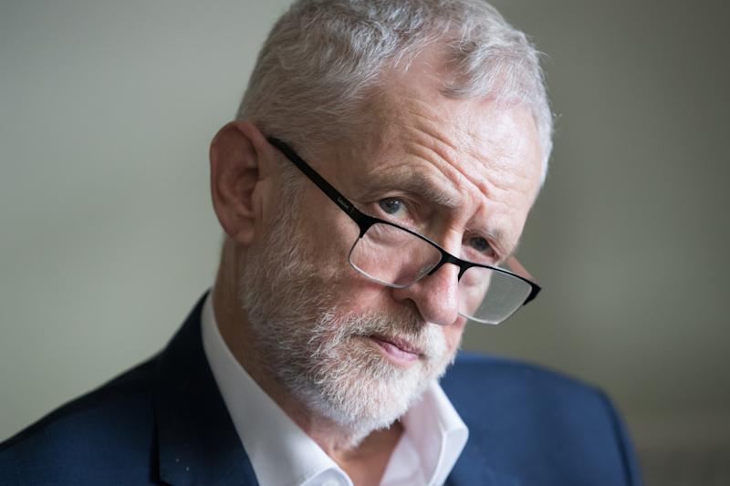 File photo dated 7/2/2019 of Jeremy Corbyn who is facing sharp criticism from his own MPs over the disastrous election defeat as former leader Tony Blair warned Labour faces an existential crisis.
