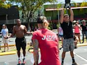 """<p>After completing an event, either online or in person, you must have your score assessed and your <a href=""""https://s3.amazonaws.com/crossfitpubliccontent/CrossFitGames_Rulebook.pdf"""" rel=""""nofollow noopener"""" target=""""_blank"""" data-ylk=""""slk:scorecard validated"""" class=""""link rapid-noclick-resp"""">scorecard validated</a> by an affiliate manager or official CrossFit judge. </p>"""