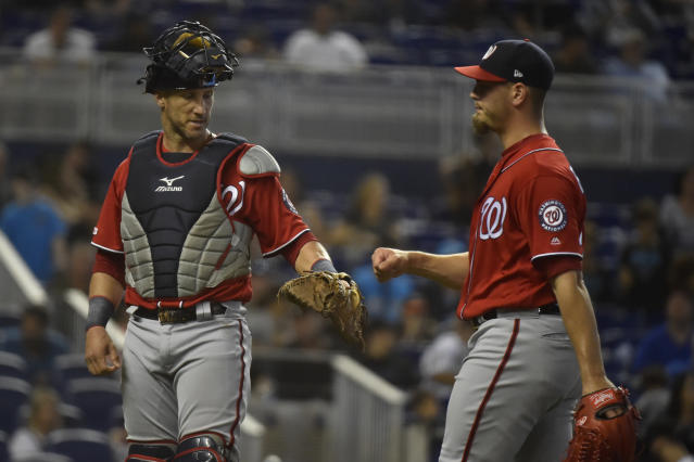 The Nationals are trying to sew up a wild-card spot. (Photo by Eric Espada/Getty Images)