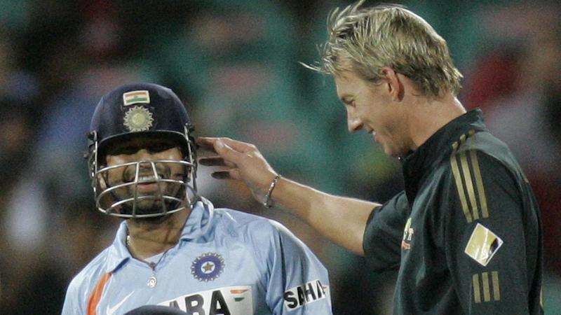 Cricket legends Sachin Tendulkar and Brett Lee would be happy for wax to be used to shine balls
