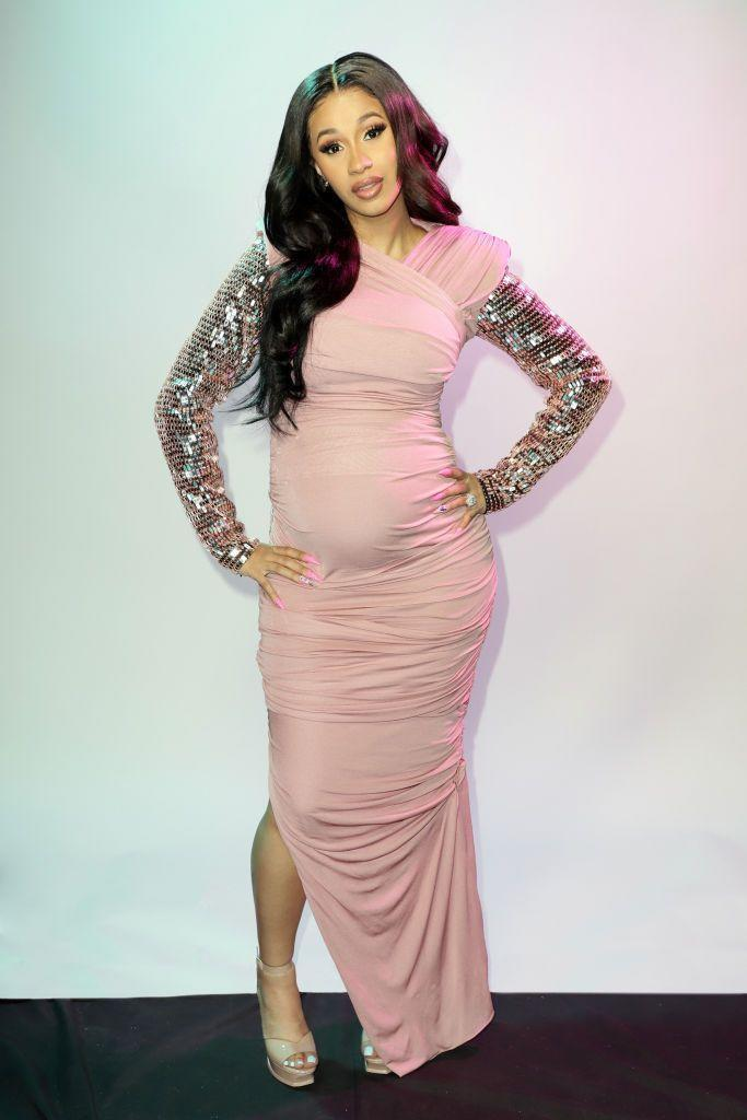 <p>The pregnant star wore Tom Ford to the event. </p>