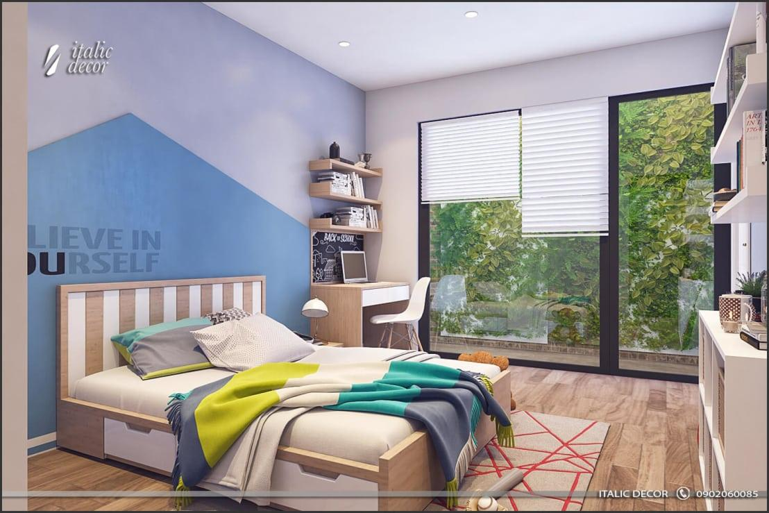 <p>Remember what we said about natural lighting and garden views? Well, this bedroom certainly took our advice, and it also took our breaths away via its colours, wooden furnishings, supreme wall designs, etc.</p><p>We simply <em>must</em> explore this amazing abode some more...</p>  Credits: homify / ITALIC DECOR