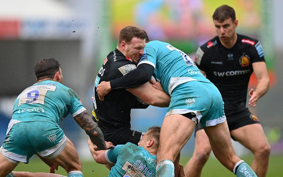 Sam Simmonds once against proved his class with another fine display for Exeter against Worcester - GETTY IMAGES