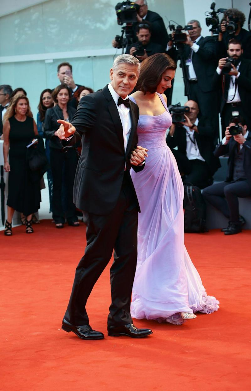 Are George and Amal expecting again? Source: Getty