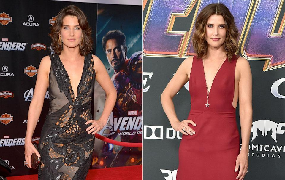 <p>Cobie Smulders made her debut as S.H.I.E.L.D. agent Maria Hill in the Marvel Cinematic Universe films in <i>The Avengers</i>, but found herself dust by the end of <i>Infinity War</i>. (Getty Images) </p>