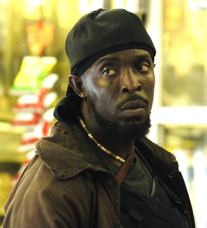 "<b>Omar Little (Michael K. Williams), ""The Wire"" (2002)</b><br><br> Even on the dark HBO drama ""The Wire,"" Omar Little had an edge. He was known to carry a shotgun around the mean streets of Baltimore, and young and old alike scattered when they heard him <a href=""http://www.youtube.com/watch?v=ueDjiAm5rzE"">whistling</a> ""The Farmer in the Dell."" The notorious drug lord hunter was careful to rob only people who were in ""the game."" <br><br>  The going got rough for Omar after he robbed a stash house with John Bailey and his boyfriend, Brandon. Both of his partners in crime were caught, and the price on Omar's head was doubled when rival Avon Barksdale realized that his target was gay. A long feud between Omar and Barksdale ensued. <br><br>  While Brandon had died refusing to give up the ghost on Omar's location, his second boyfriend, <a href=""http://heavenandhere.wordpress.com/2006/11/29/omar-little-we-never-know-you/"">Dante</a>, wasn't so strong willed. He caved and revealed Omar's whereabouts to hired thug Brother Mouzone. It looked like Omar and his third love, Renaldo, could have escaped the drama of their life in Baltimore when they moved to San Juan, Puerto Rico, but the lure of revenge brought him back to Charm City and his <a href=""http://www.ew.com/ew/article/0,,20180163,00.html"">ultimate demise</a>. <br><br>  Say what you will about Omar, but he had one major fan. President Obama <a href=""http://www.cbsnews.com/8301-31749_162-57388830-10391698/president-obama-omar-little-was-the-best-character-on-the-wire/"">once declared</a> him the best character on the show, which he said is one of his favorites."