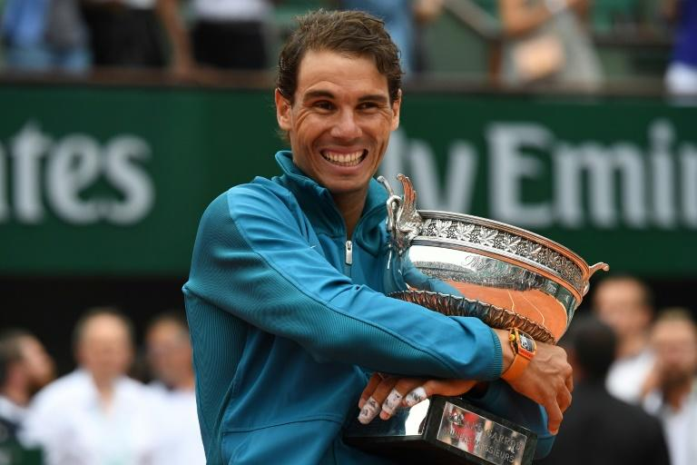 Nadal lifted a record-extending 11th French Open title last year