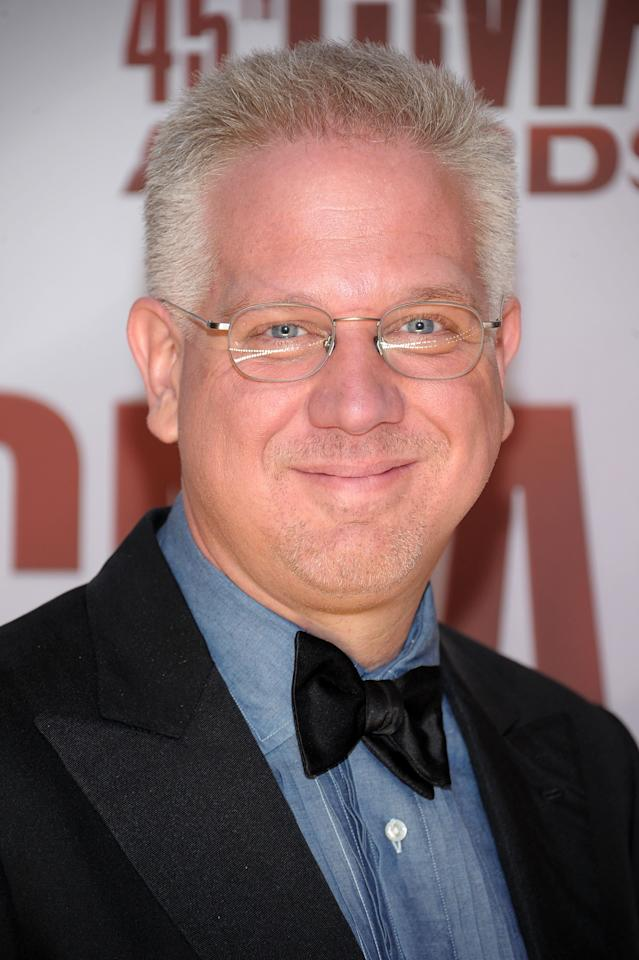 NASHVILLE, TN - NOVEMBER 09: Glenn Beck attends the 45th annual CMA Awards at the Bridgestone Arena on November 9, 2011 in Nashville, Tennessee.  (Photo by Michael Loccisano/Getty Images)