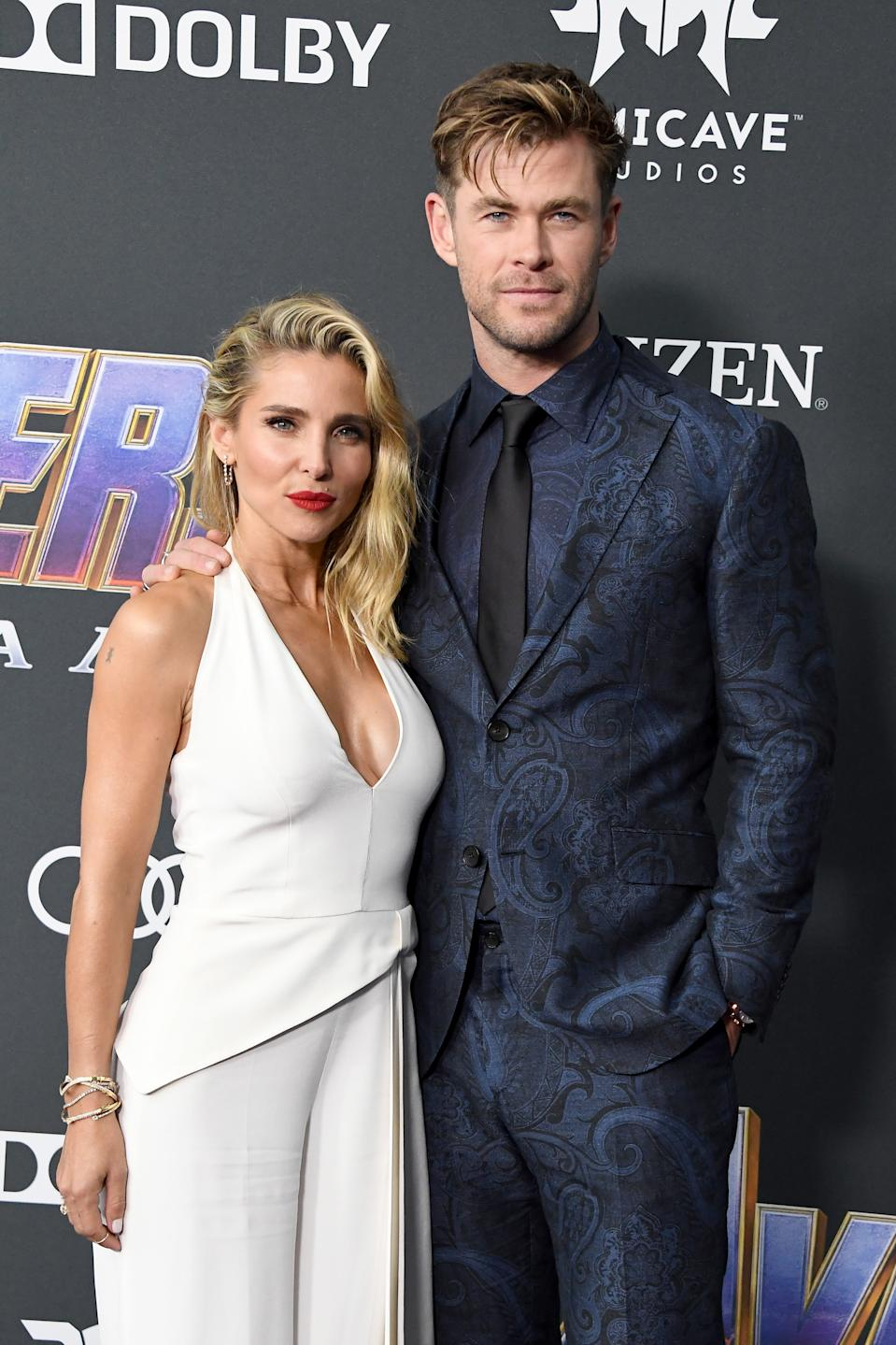 Elsa Pataky (L) and Chris Hemsworth live in Byron Bay, down to earth relatable personas.