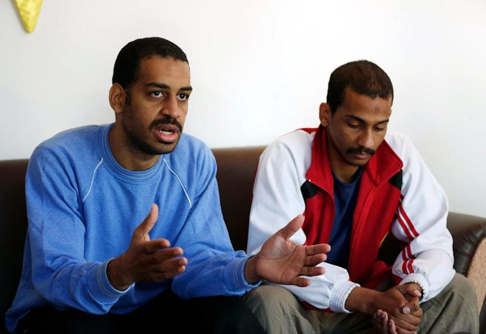 Alexanda Amon Kotey has pleaded guilty to terror charges in a US federal court (Hussein Malla/AP) (AP)
